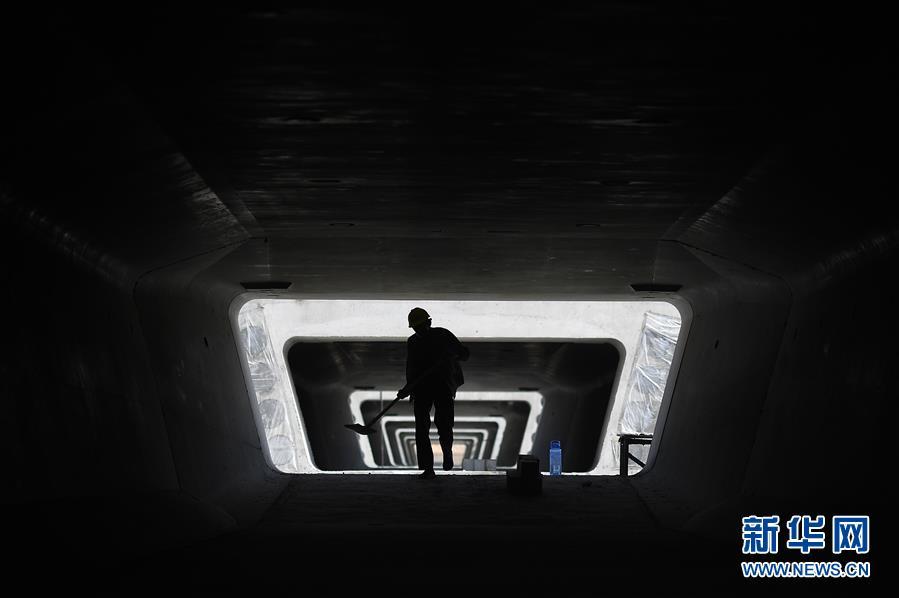 (经济)(2)银西高铁甘宁段建设稳步推进