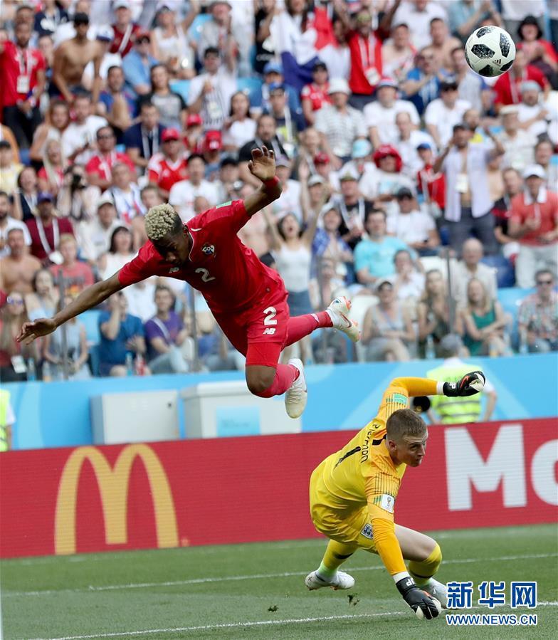(世界杯)(7)足球――G组:英格兰队胜巴拿马队
