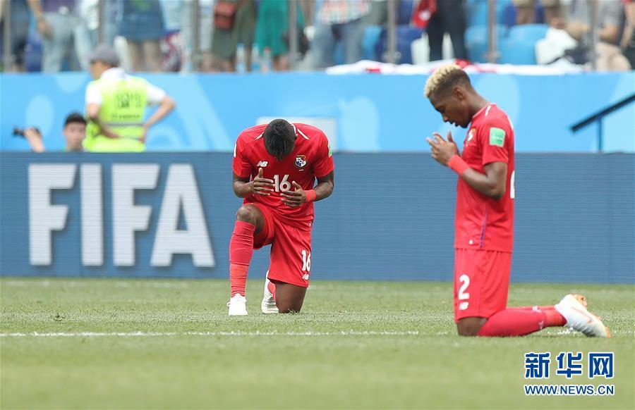 (世界杯)(18)足球――G组:英格兰队胜巴拿马队