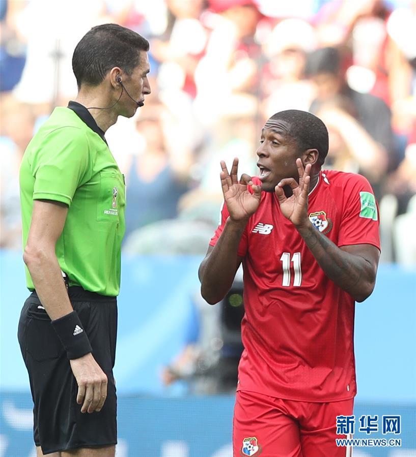 (世界杯)(8)足球――G组:英格兰队胜巴拿马队