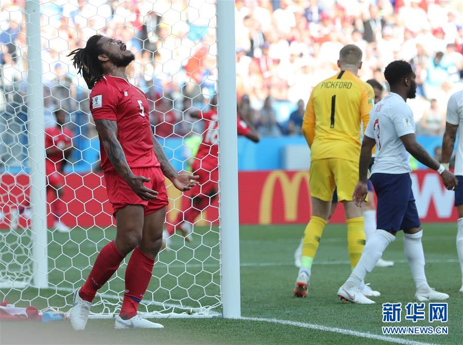 (世界杯)(1)足球――G组:英格兰队胜巴拿马队