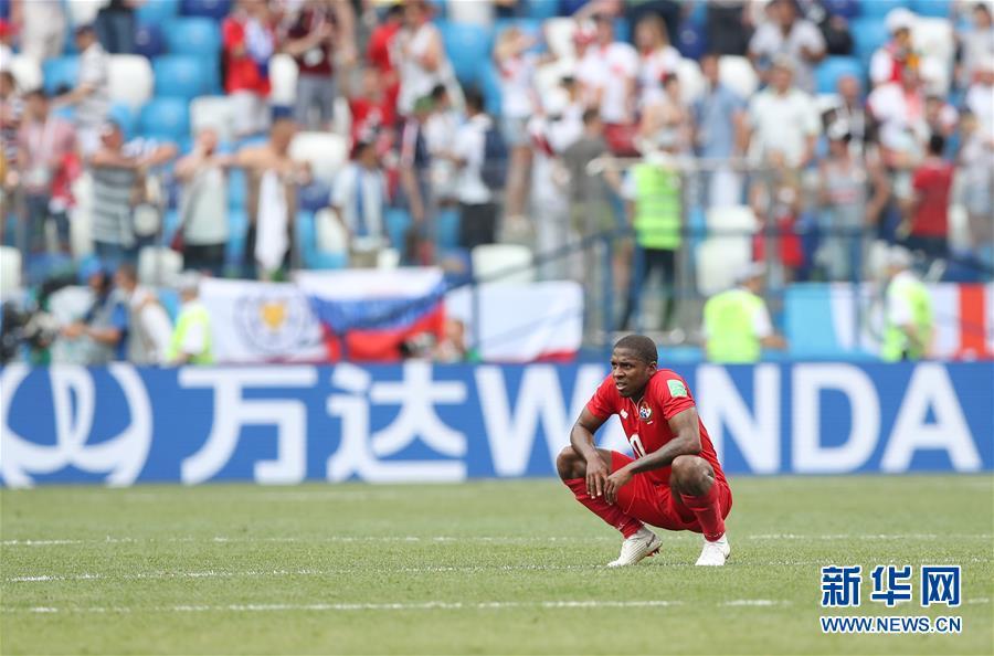 (世界杯)(10)足球――G组:英格兰队胜巴拿马队