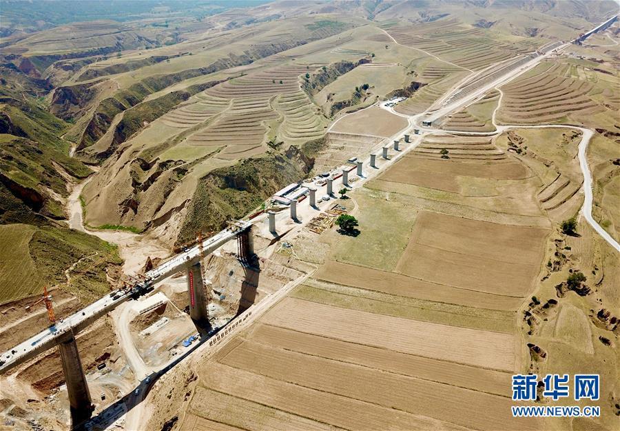 (经济)(9)银西高铁甘宁段建设稳步推进