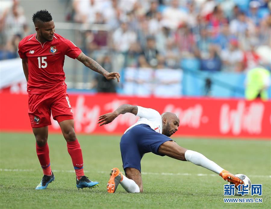 (世界杯)(20)足球――G组:英格兰队胜巴拿马队