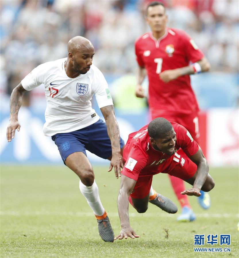 (世界杯)(13)足球――G组:英格兰队胜巴拿马队