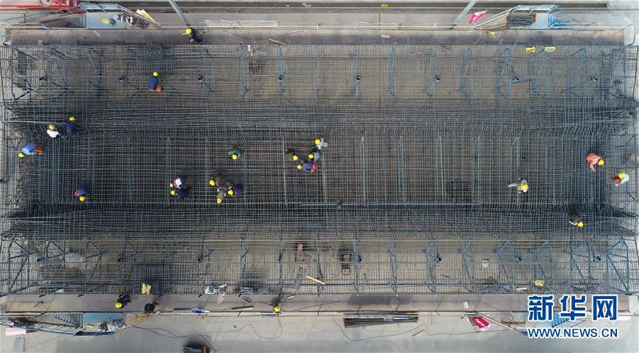 (经济)(3)银西高铁甘宁段建设稳步推进