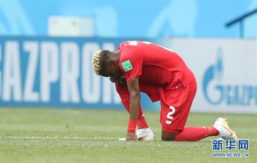 (世界杯)(16)足球――G组:英格兰队胜巴拿马队