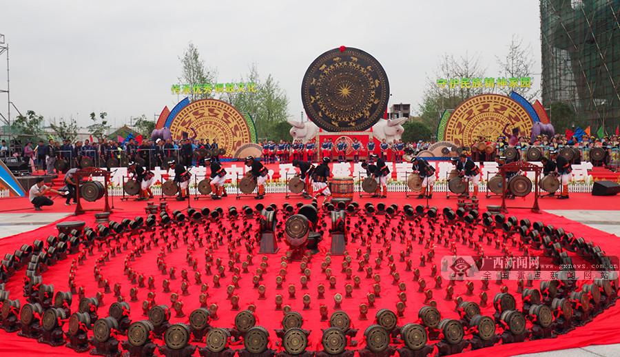 """河池""""毛南舞汇""""聚人心——环江毛南族分龙节见闻"""