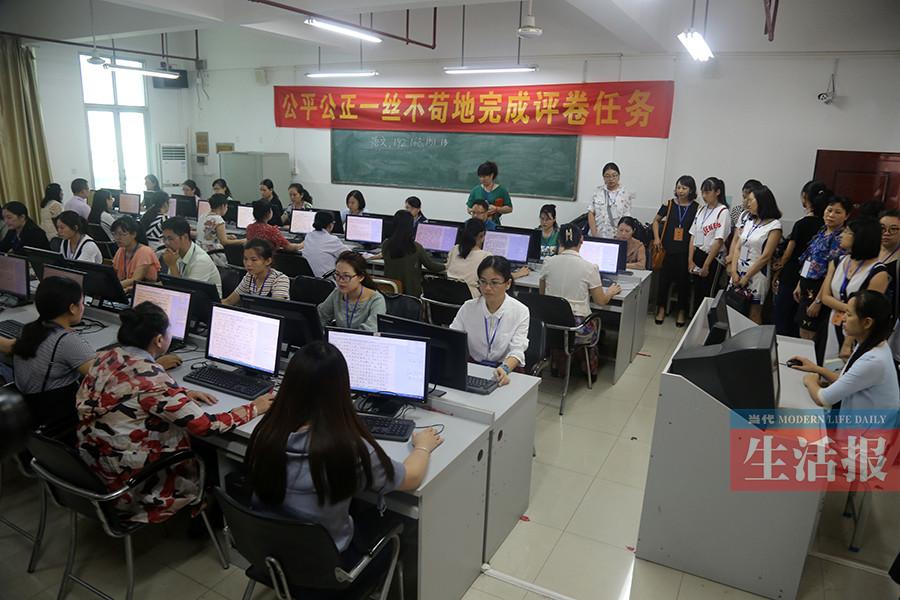 南宁中考阅卷全部完成 预计7月8日公布成绩