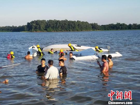 海南万宁一小型飞机失事致1死1失踪正在全力搜救