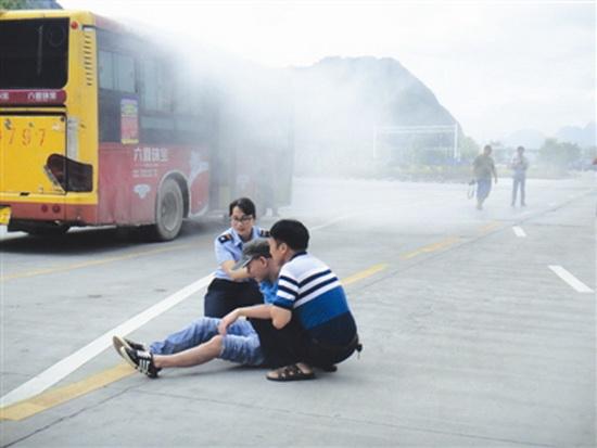 大化运管局举行道路运输行业安全应急救援演练