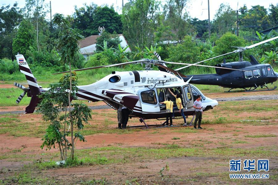 (国际)(1)泰国清莱山洞新一轮救援行动准备展开