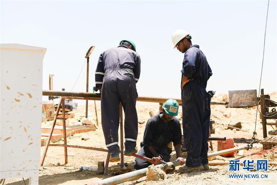 (国际・图文互动)(1)中埃建设者携手落实埃及新首都梦