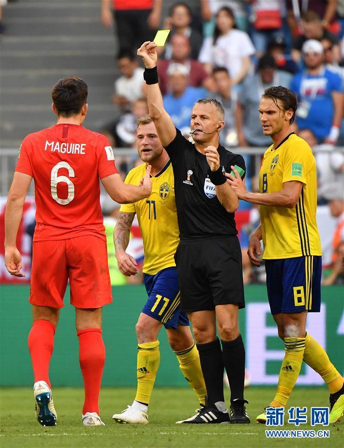 (世界杯)(2)足球――英格兰队杀进四强