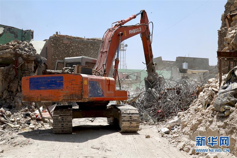 (国际・图文互动)(1)废墟中的艰难重生路――摩苏尔解放一周年回访记