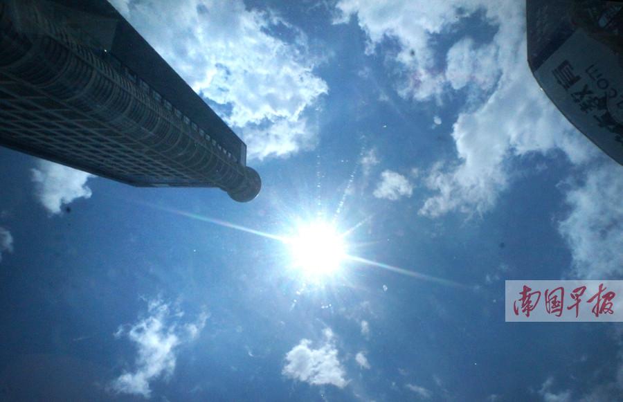 天气播报:高温又唱主角 注意防暑防晒