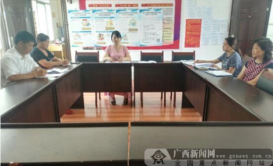 那坡县科协召开脱贫攻坚专班工作培训会