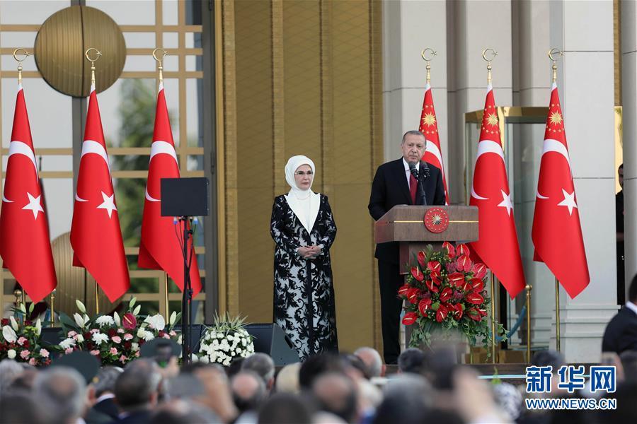 (国际)(1)土耳其举行总统就职仪式并宣布新内阁成员