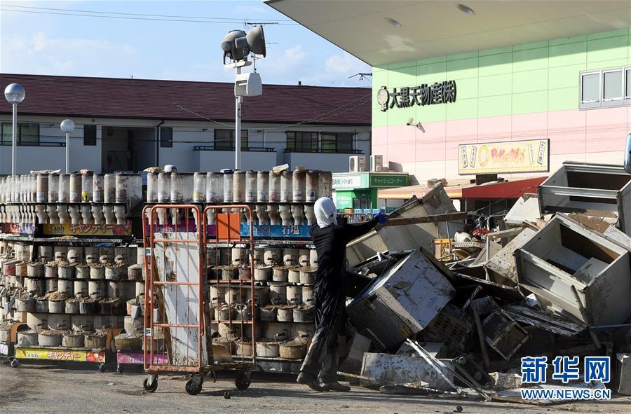 (国际)(1)日本暴雨过后满目疮痍