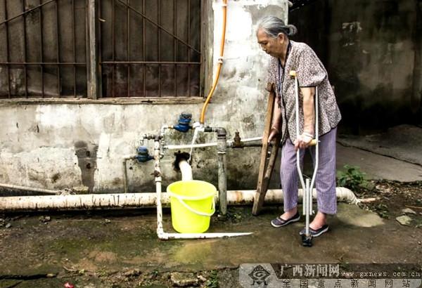 临桂15户人家停水半月 城区政府协调终于恢复供水