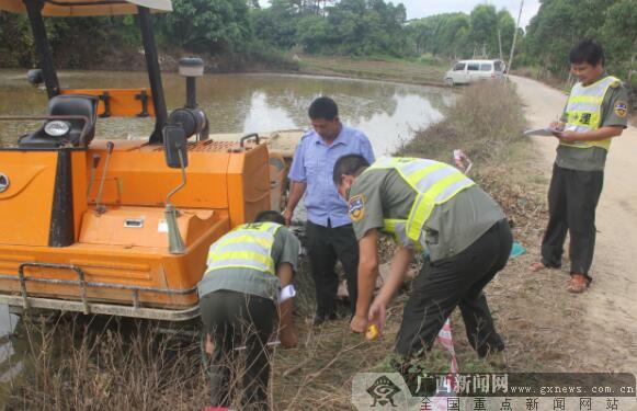 港口区农机部门举行应急演练