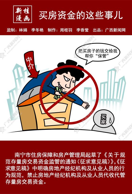 【新桂漫画】买房资金的这些事儿