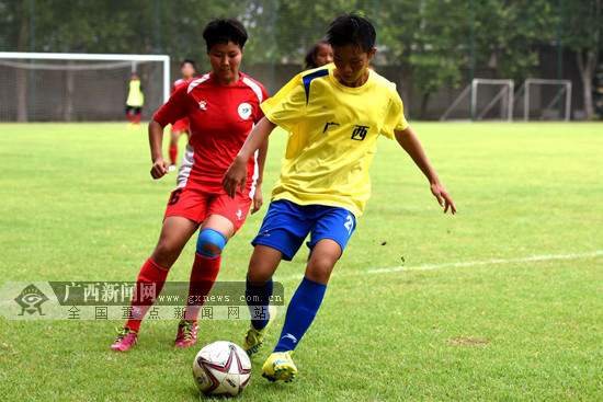 桂林8名选手入选2018全国校园足球夏令营最佳阵容