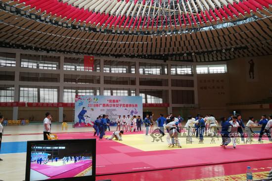 据悉,赛事共有来自南宁,柳州,桂林,北海等地的175名教练员和运动员