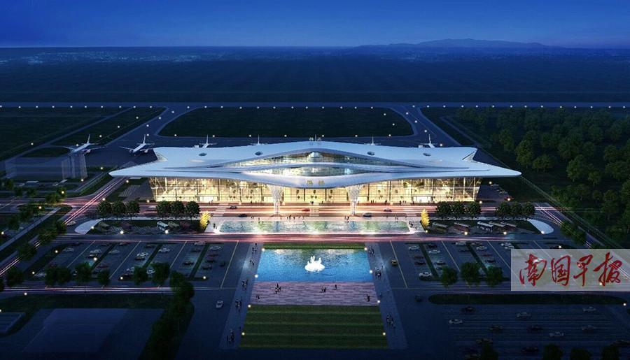 广西下达2亿元用于玉林民用机场 明年底或将通航