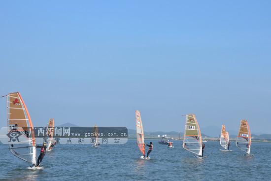 紧扣海洋特色 第十届广西体育节防城港分会场开幕