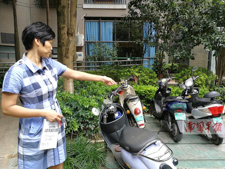 南宁市凤岭一号小区60块电动自行车电瓶一夜被偷