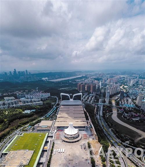 南宁国际会展中心改扩建工程竣工 会展大厦落成
