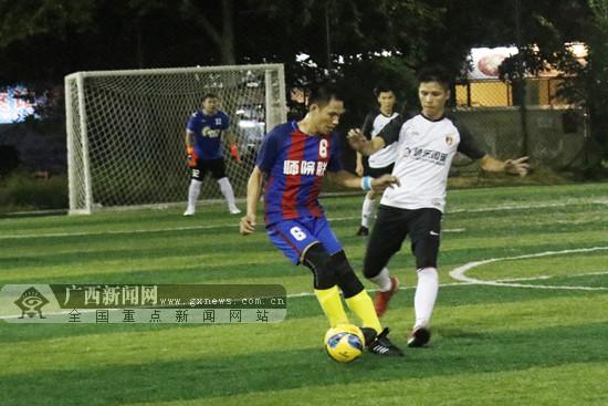 玉林2018夏季足球精英对抗赛火热进行中