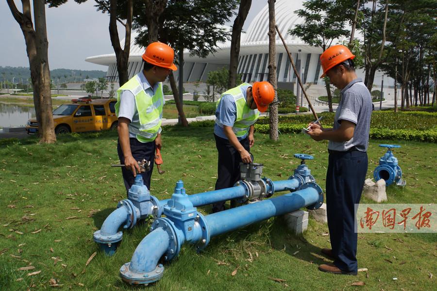 为迎接东博会、峰会 绿城水务全力做好保供水工作