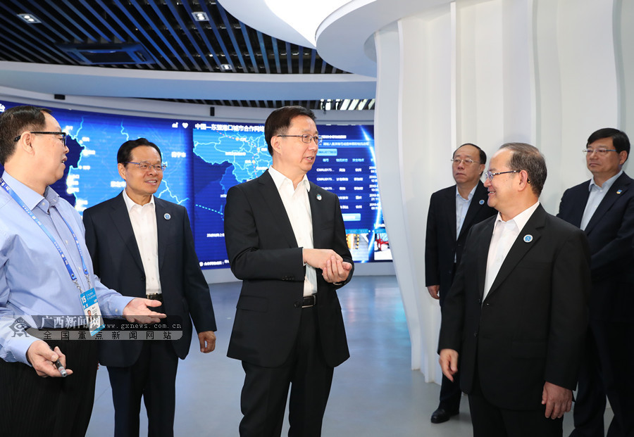 韓正:發揮獨特區位優勢 做好向海經濟大文章