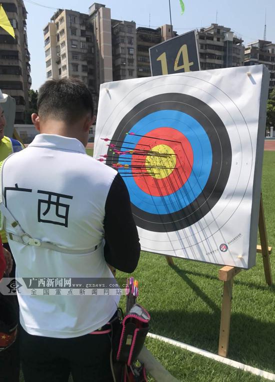 """2018全国射箭邀请赛收官 广西队""""以老带新""""收获3金"""