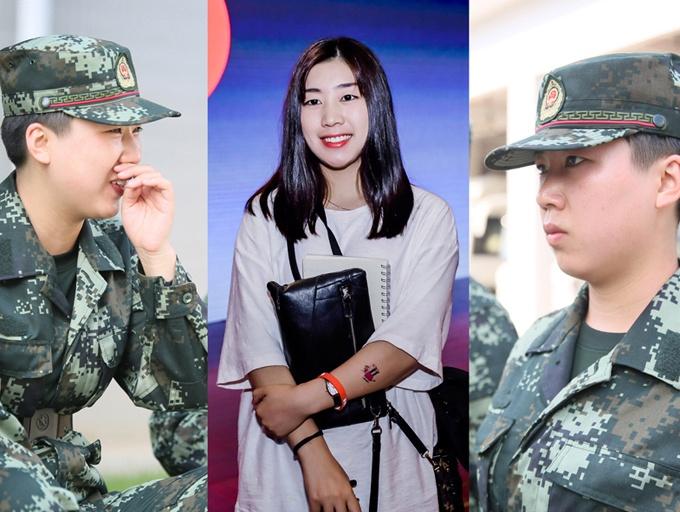 高清组图:参军入营三五天,中国竞彩网比分直播她们这样说