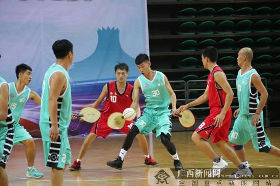 """2018""""民体杯""""全国珍珠球比赛开幕 海南队首战告捷"""