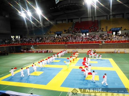 2018年柳州市武术散打暨跆拳道冠军赛开赛