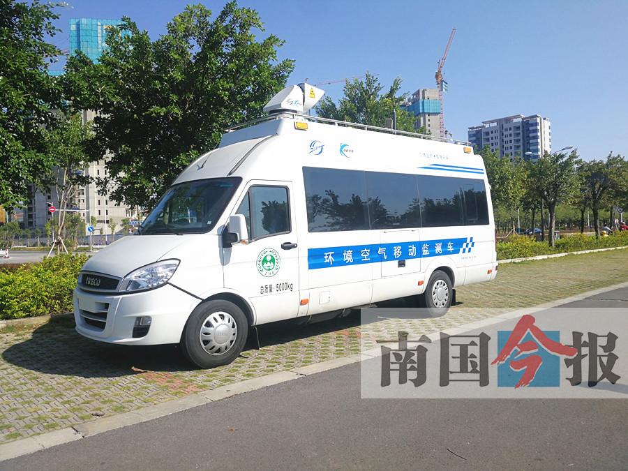 广西首台走航车落户柳州 哪里有污染物就追到哪里
