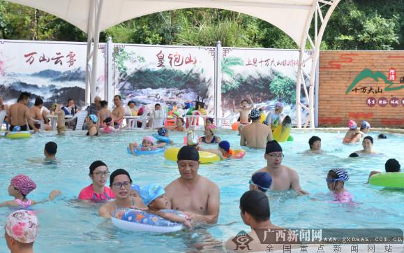 国庆假期15余万人次游上思 创收近1.5亿元
