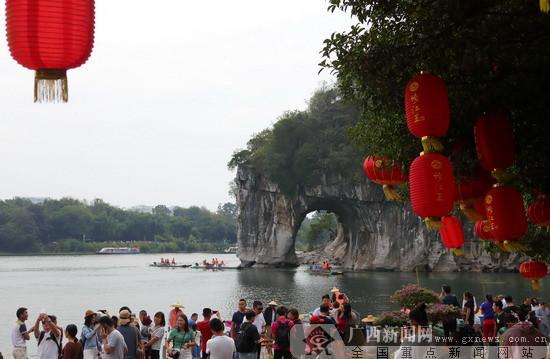 农行助推桂林国际旅游胜地持续热火