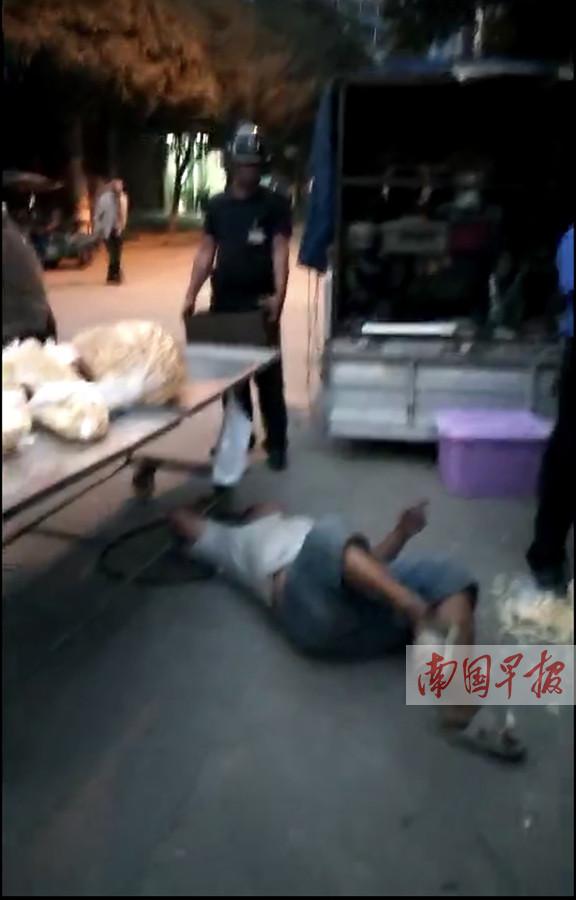河池城管执法人员打断小贩腿?当地回应称属谣言