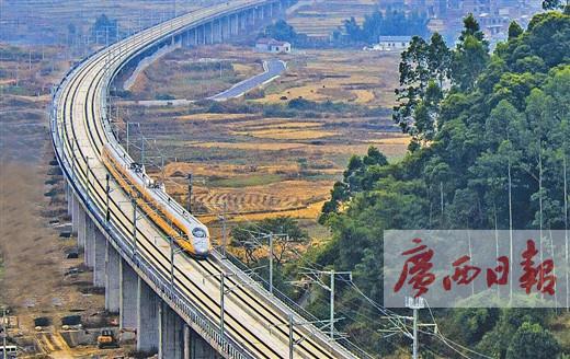 """[广西这一天]第20期:从""""路网末梢""""到""""区域枢纽"""",看壮乡铁路一路跑出""""广西速度"""""""
