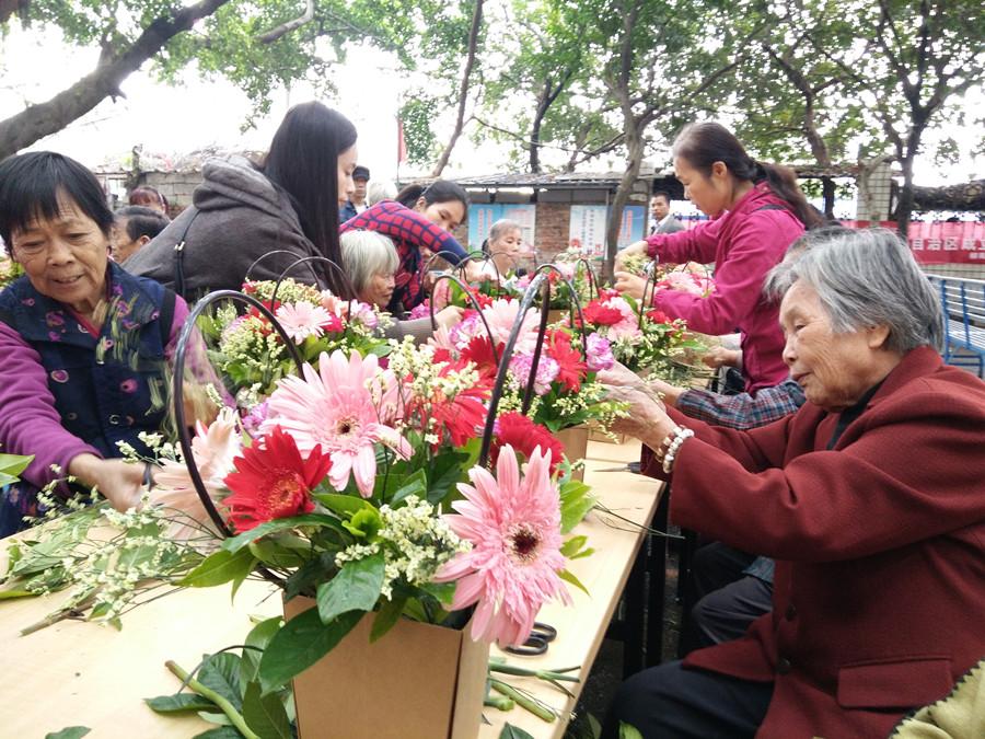 高清图集:重阳节 关爱老人传承孝道