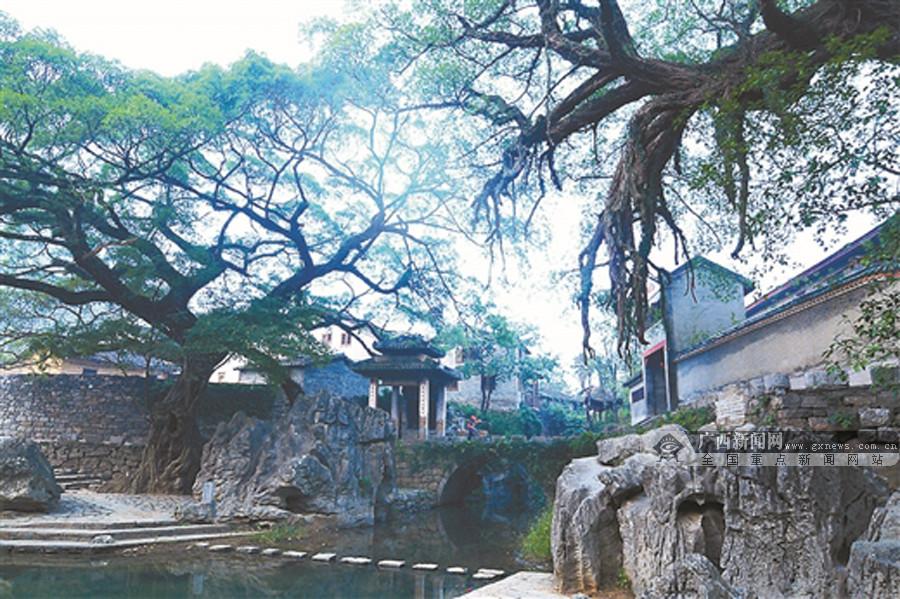 近年来,广西相继建设昭平黄姚古镇,东兴江平镇,富川秀水村等多个特色