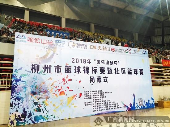 2018年柳州市篮球锦标赛暨社区篮球赛精彩落幕
