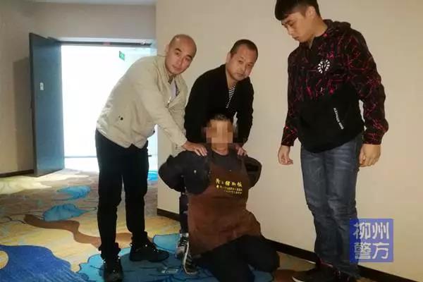 柳州抓获一个潜逃十年的特大盗窃嫌疑人