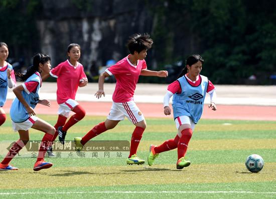 桂林市积极备战广西第四届校园足球联赛(中学组)