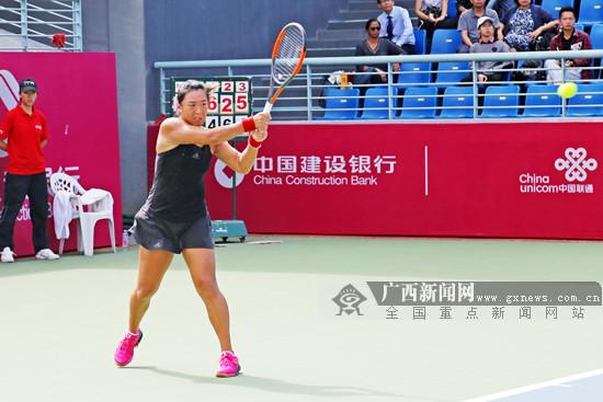 """阻击黑马 韩馨蕴成ITF女网巡回赛南宁站""""双冠王"""""""
